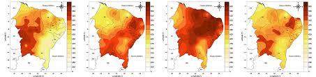 Mapa de Irradiação Solar no Rio Grande do Norte